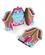 662449 - Card, Gingerbread Fold-a-Lon